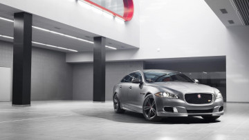 Картинка автомобили jaguar xjr car