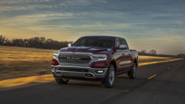 обоя dodge ram 1500 limited 2019, автомобили, ram, 2019, limited, бардовый, 1500, dodge