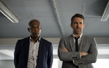 обоя кино фильмы, the hitmans bodyguard, samuel, jackson, ryan, reynolds