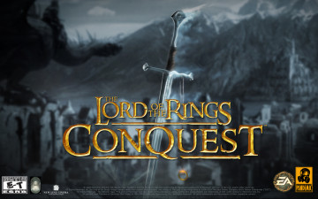 обоя the, lord, of, rings, conquest, видео, игры