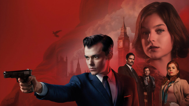 Обои картинки фото pennyworth , 2019-, кино фильмы, -unknown , другое, джейсон, флеминг, криминал, 2019, боевик, 1, сезон, сериал, постер, пенниуорт, джек, бэннон