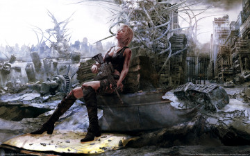 обоя parasite, eve, 3rd, birthday, artwork, видео, игры, the