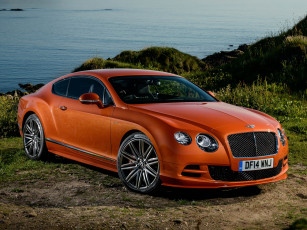Картинка автомобили bentley uk-spec gt speed continental 2014г