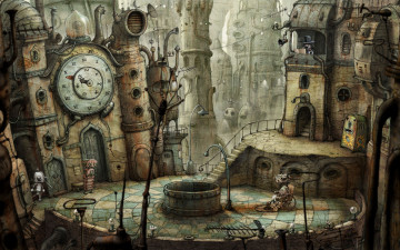 обоя machinarium, видео, игры