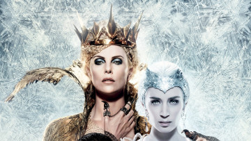 обоя кино фильмы, the huntsman winter`s war, blunt, emily, theron, charlize