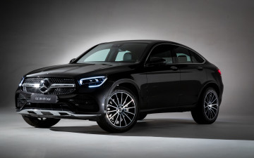 Картинка 2019+mercedes-benz+glc300+coupe автомобили mercedes-benz немецкие glc mercedes benz с253 2019 года премиум класс coupe glc300