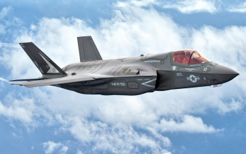 Картинка f-35+lightning+ii +lockheed+martin авиация боевые+самолёты military aircraft fifth generation fighter-bomber f-35 lockheed martin lightning ii