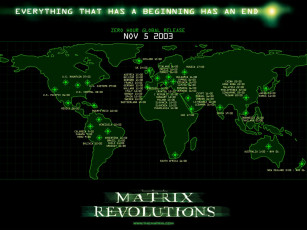 обоя matrix, revolutions, кино, фильмы, the