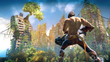обоя enslaved, odyssey, to, the, west, видео, игры, здания