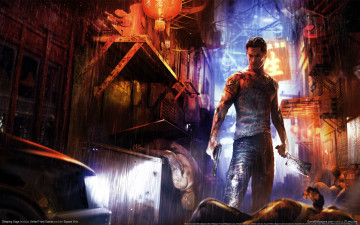 Картинка sleeping dogs видео игры парень