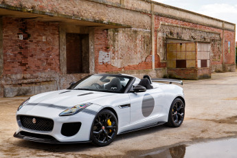 Картинка автомобили jaguar светлый 2014г uk-spec project 7 f-type