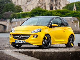 Картинка opel adam slam автомобили