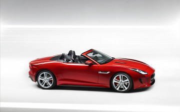 Картинка автомобили jaguar f-type 2014