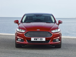 Картинка автомобили ford красный hatchback uk-spec mondeo 2014г