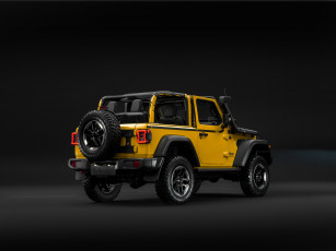 обоя jeep wrangler rubicon 1941 by mopar , jl, 2019, автомобили, jeep, джип, wrangler, mopar, желтый, 1941
