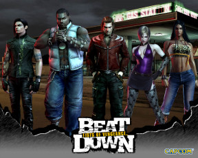обоя beat, down, first, of, vengeance, видео, игры
