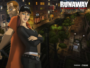 обоя runaway, twist, of, fate, видео, игры