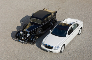Картинка maybach+landaulet+2009+and+maybach+landaulet+retro+car автомобили maybach retro landaulet car 2009