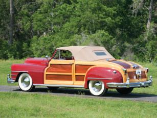 обоя chrysler town & country convertible 1946, автомобили, chrysler, 1946, convertible, country, town