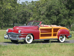 обоя chrysler town & country convertible 1946, автомобили, chrysler, 1946, town, country, convertible