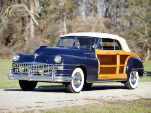 обоя chrysler town & country convertible 1947, автомобили, chrysler, convertible, country, town, 1947