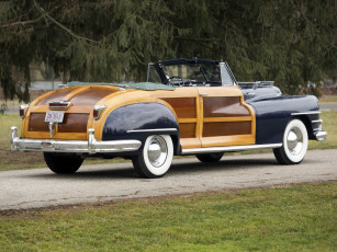 обоя chrysler town & country convertible 1947, автомобили, chrysler, town, convertible, country, 1947