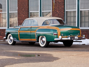 обоя chrysler town & country newport coupe 1950, автомобили, chrysler, town, newport, coupe, country, 1950