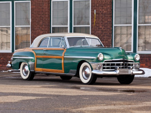 обоя chrysler town & country newport coupe 1950, автомобили, chrysler, 1950, coupe, town, country, newport