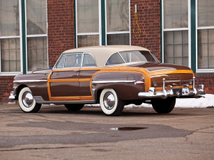 обоя chrysler town & country newport coupe 1950, автомобили, chrysler, coupe, newport, country, town, 1950