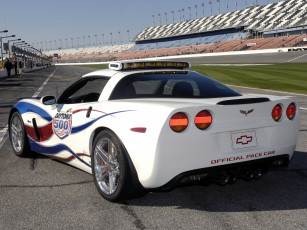 обоя corvette z06 indianapolis 500 pace car 2006, автомобили, corvette, z06, indianapolis, 500, pace, car, 2006