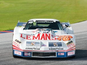 обоя greenwood corvette imsa racing coupe 1976, автомобили, corvette, coupe, racing, imsa, greenwood, 1976