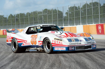 обоя greenwood corvette imsa racing coupe 1976, автомобили, corvette, imsa, greenwood, coupe, racing, 1976