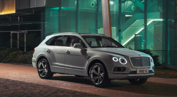 обоя bentley bentayga plug in hybrid 2019, автомобили, bentley, 2019, bentayga, plug, in, hybrid