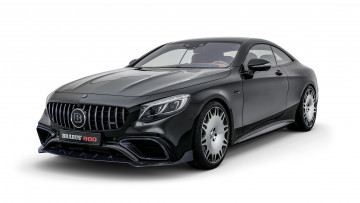 обоя brabus 800 coupe based on mercedes-benz amg s-63 4matic coupe 2018, автомобили, brabus, based, coupe, 800, 4matic, s-63, amg, mercedes-benz, 2018