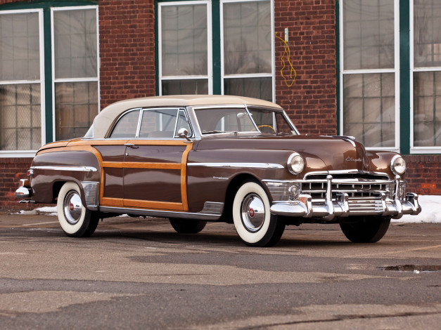 Обои картинки фото chrysler town & country newport coupe 1950, автомобили, chrysler, 1950, coupe, newport, country, town
