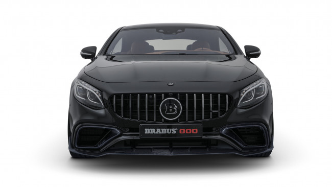 Обои картинки фото brabus 800 coupe based on mercedes-benz amg s-63 4matic coupe 2018, автомобили, brabus, 2018, coupe, 4matic, s-63, amg, mercedes-benz, based, 800