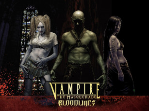 обоя vampire, the, masquerade, bloodlines, видео, игры