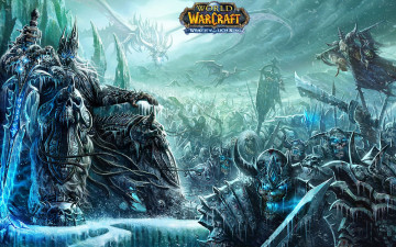 Картинка world of warcraft wrath the lich king видео игры