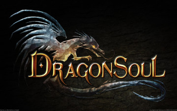 обоя dragon, soul, logo, видео, игры