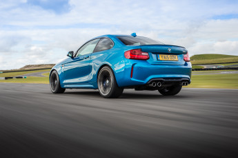 Картинка автомобили bmw m2 coupе uk-spec f87 2016г
