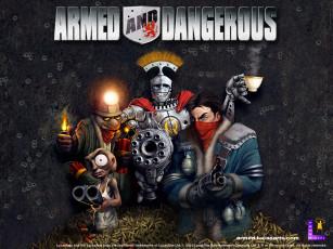 обоя armed, and, dangerous, видео, игры