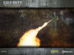 Картинка call of duty united offensive видео игры