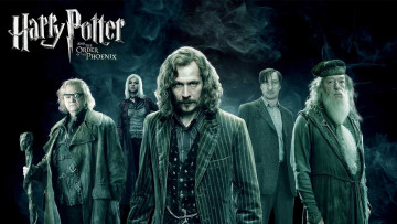 обоя кино фильмы, harry potter and the order of the phoenix, дамблдор, римус, люпин, сириус, блэк, тонкс, аластор, грюм, маги