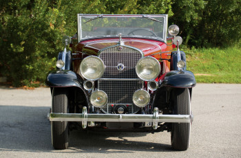 обоя cadillac v12-370-a convertible coupe 1931, автомобили, cadillac, coupe, 1931, v12-370-a, convertible