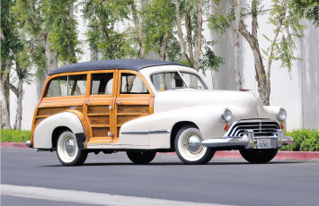 обоя oldsmobile special 66, 68 station wagon 1947, автомобили, oldsmobile, 66-68, 1947, wagon, station, special