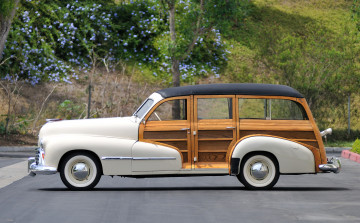 обоя oldsmobile special 66, 68 station wagon 1947, автомобили, oldsmobile, 66-68, special, wagon, station, 1947