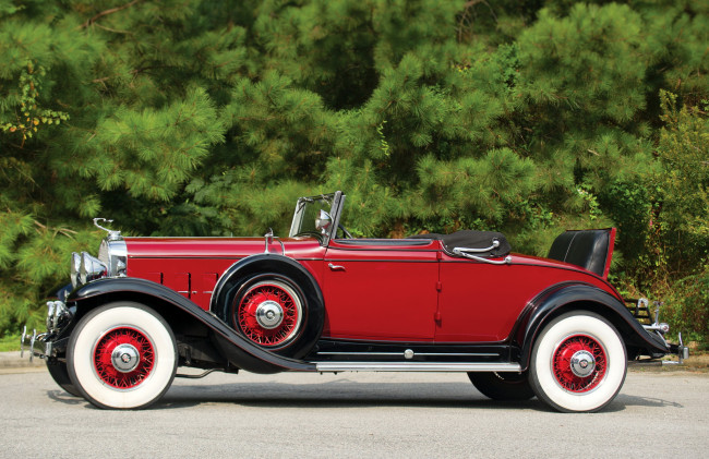 Обои картинки фото cadillac v12-370-a convertible coupe 1931, автомобили, cadillac, 1931, coupe, convertible, v12-370-a