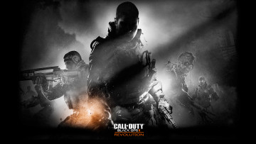обоя call, of, duty, black, ops, revolution, видео, игры, ii, нежить