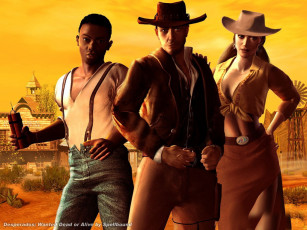 обоя desperados, видео, игры, wanted, dead, or, alive