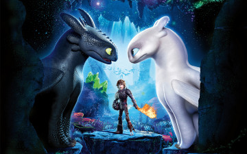 обоя мультфильмы, how to train your dragon,  the hidden world, how, to, train, your, dragon, the, hidden, world
